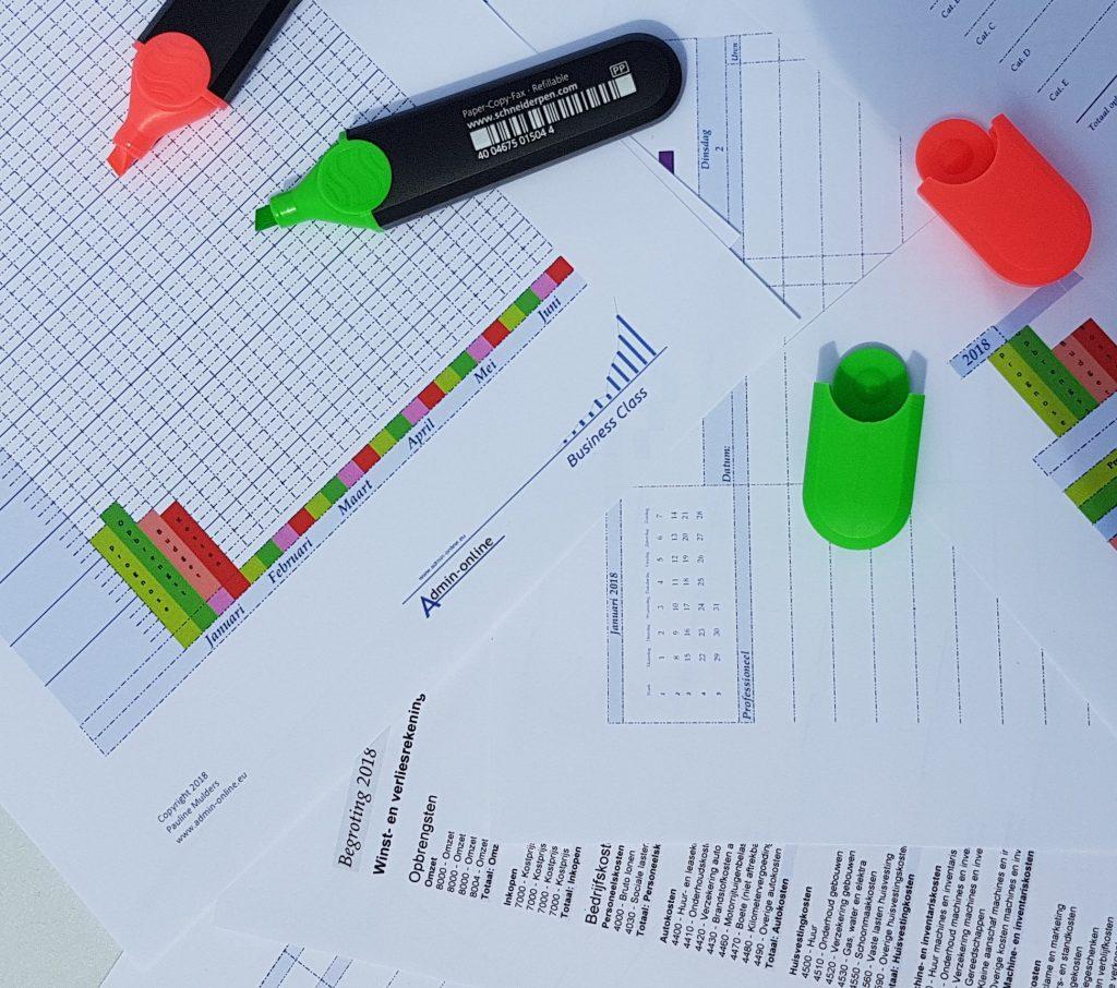 financiele planning maken