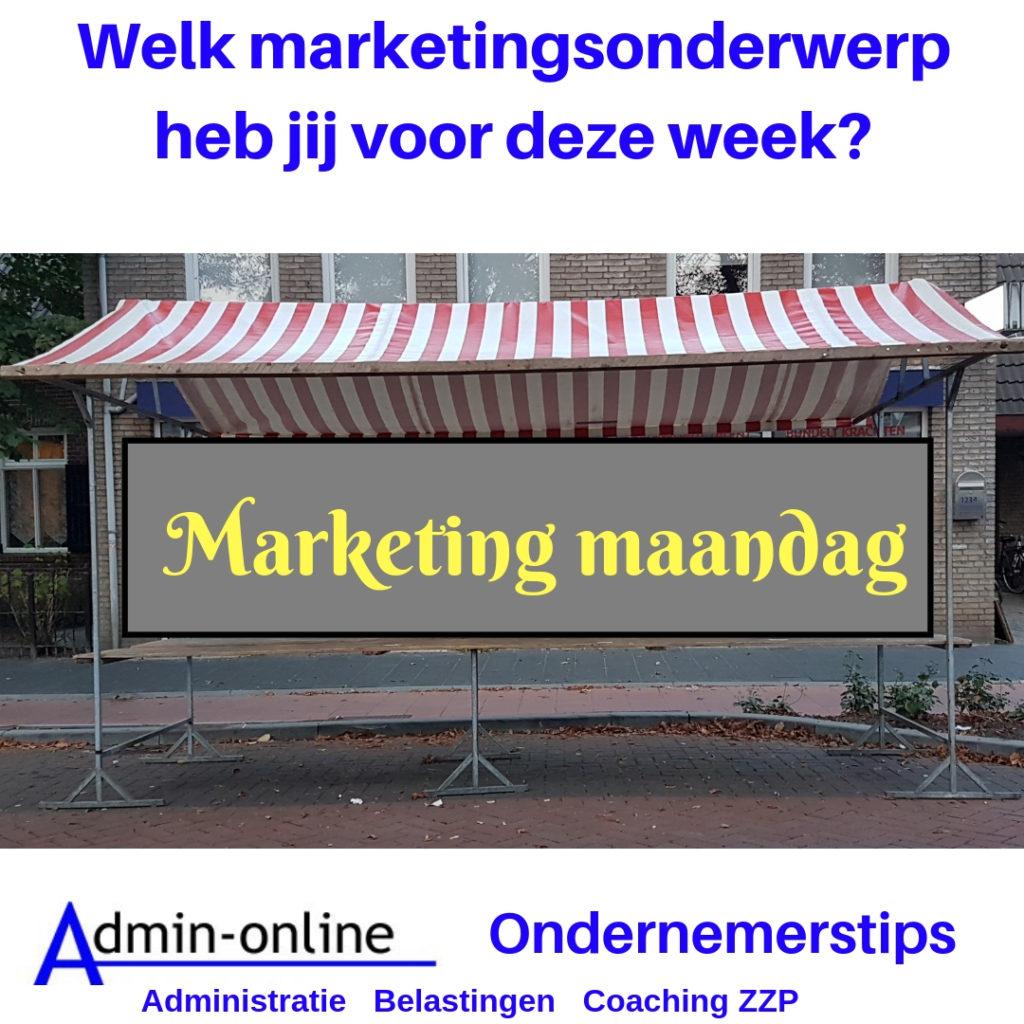 marketing maandag