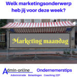 marketing maandag
