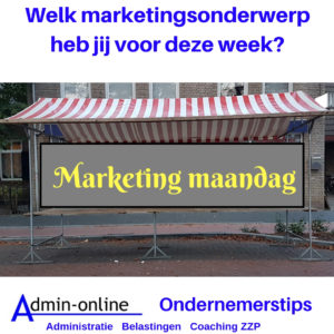 Maak een planning voor je marketing, doe je mee?