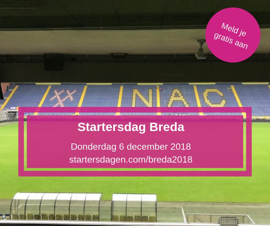 Gratis entree bij startersdagen.com bij NAC in Breda 6 december 2018.