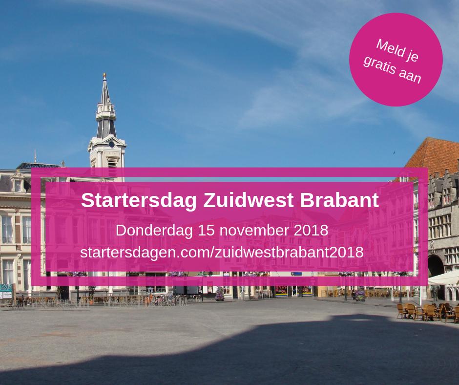 Wij staan weer op de startersdag In Bergen op Zoom van startersdagen.com. Kom jij ook?
