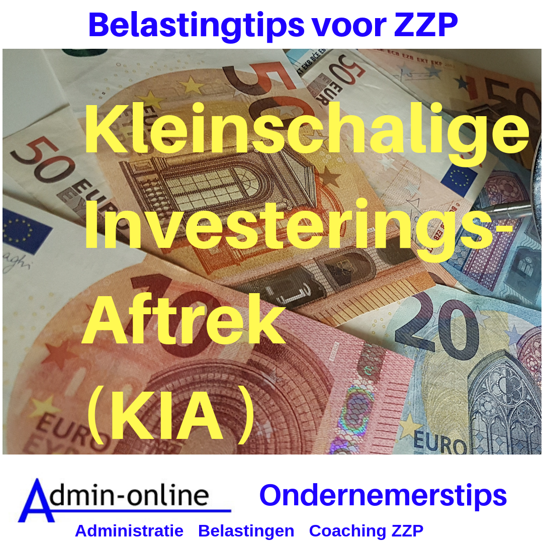 Belastingtip: Investeringsaftrek (KIA)