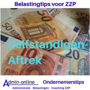 ZZP belastingtip: Zelfstandigenaftrek