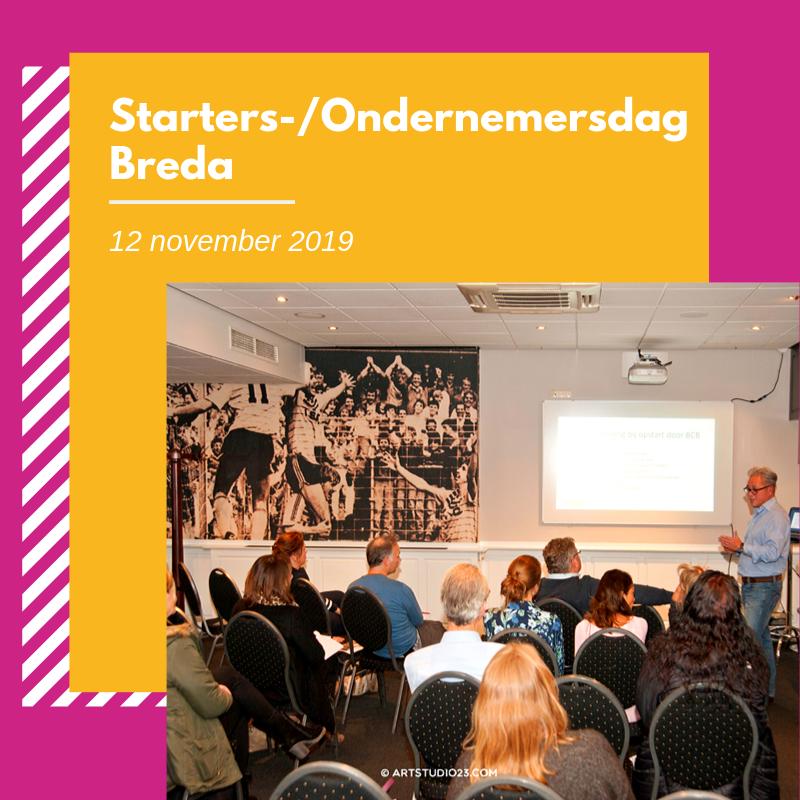 Ondernemersdag in het NAC stadion te Breda op 1 november. Kom je ook?