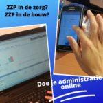 Admin-online ZZP in de zorg