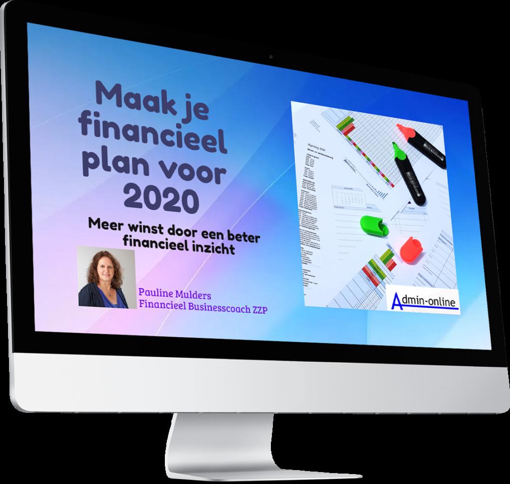 Admin-online financieel plan pc